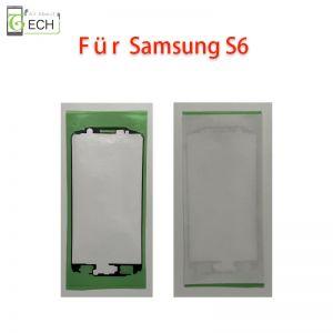 Für Samsung S6 G920F Rahmen Display Klebefolie Frontkleber Dichtung wasserdicht