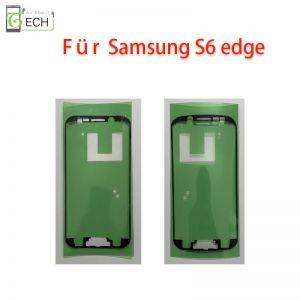 Für Samsung S6 Edge Rahmen Display Klebefolie Frontkleber Dichtung wasserdicht