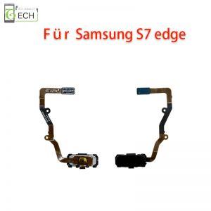 Für Samsung S7 Edge Home Taste Finger Abdruck Sensor Fingerprint Flex schwarz