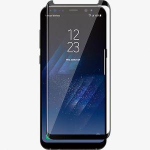 Panzerfolie für Samsung Galaxy S8 Schutzfolie 3D Schwarz Echt Glas HQ