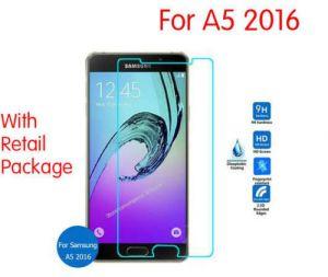 2 x Schutzfolie für Samsung A5 2016 Schutzglas 9H Panzerfolie Echtglas