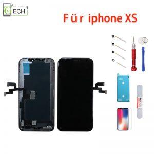 iPhone XS LCD Display Einheit schwarz Retina Touchscreen Bildschirm Incell