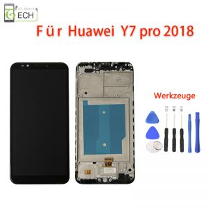Für Huawei Y7 Pro 2018 Y7 prime 2018 Y7 2018LCD mit Rahmen DisplayTouch Screen